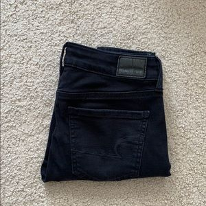 American Eagle Black Denim